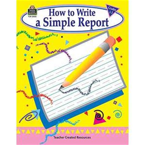 Report conference how to write